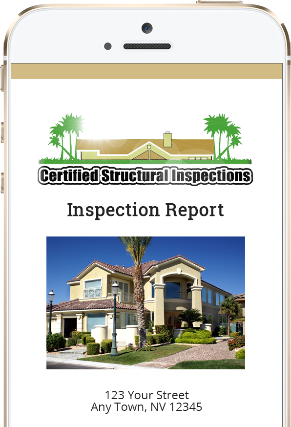 digital inspection report phone